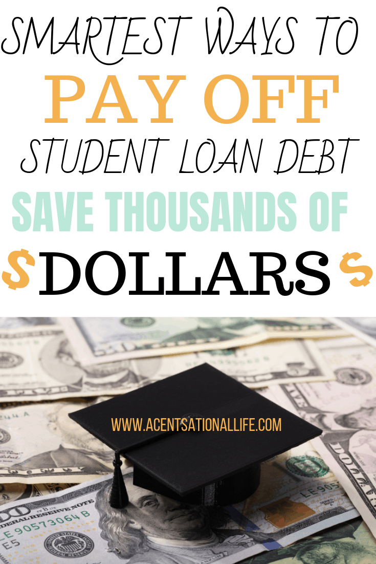 Smart Ways to Pay Off Student Loans
