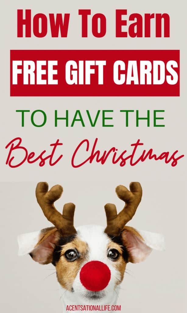 Free Gift Cards For Christmas