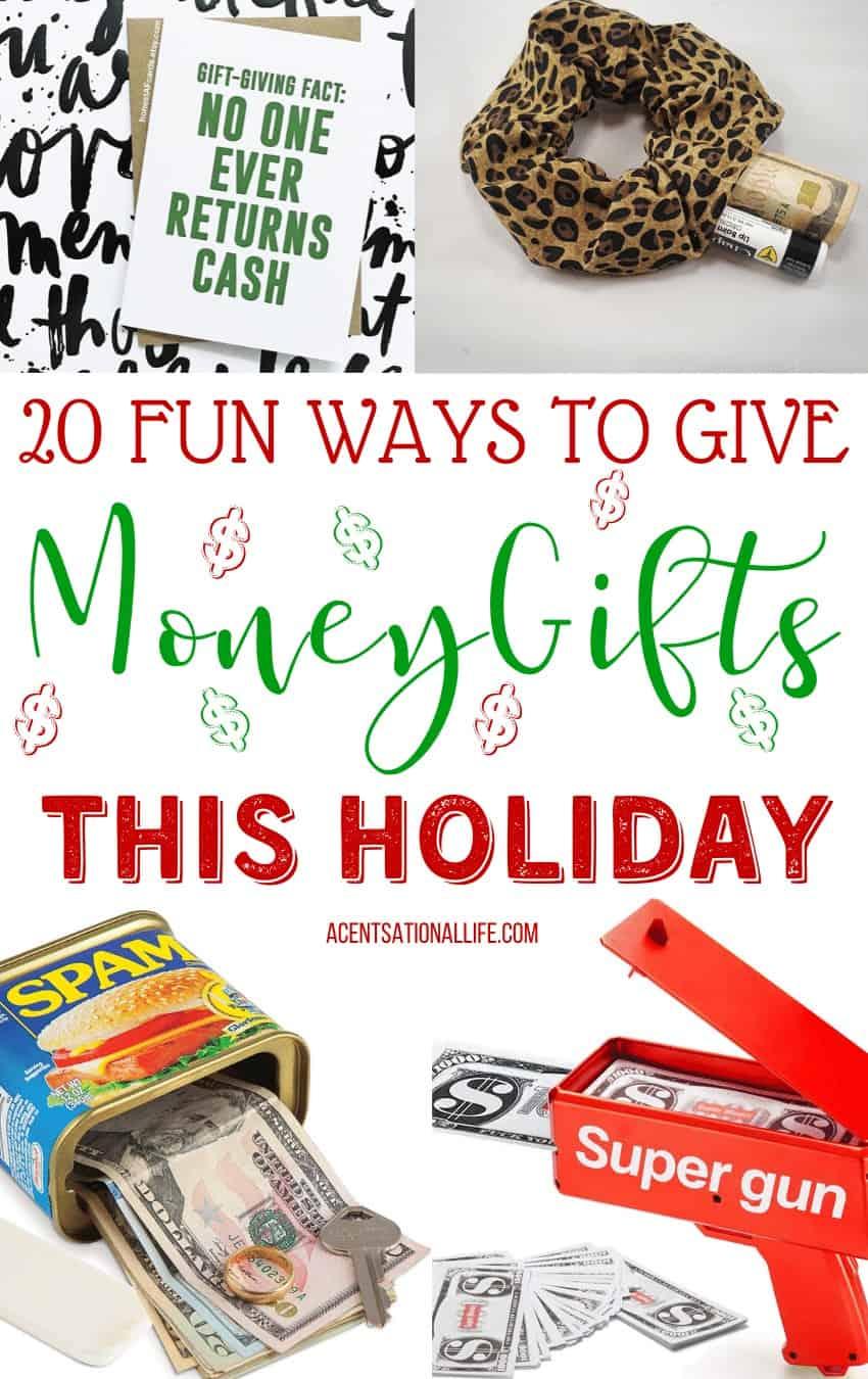 Creative Money Gift Ideas