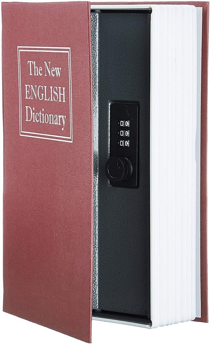 Faux Dictionary Safe