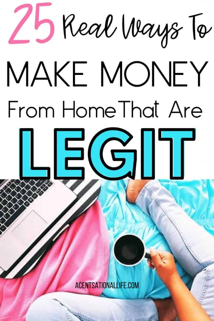 Side Hustles To Make Money From Home