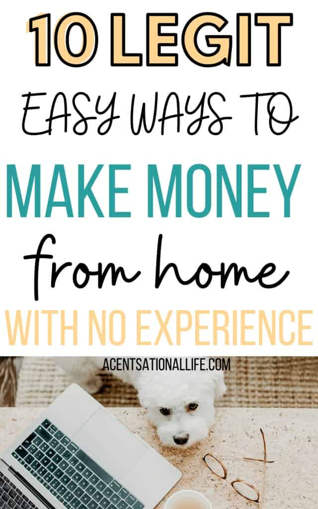 Easy Ways To Make Money Without Leaving Home