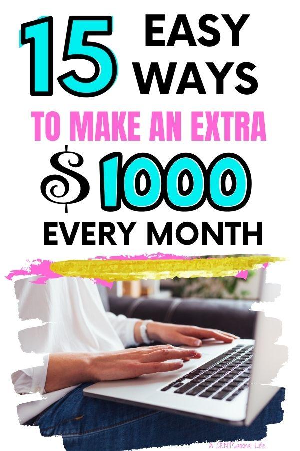 Make $1000 A Month Fast