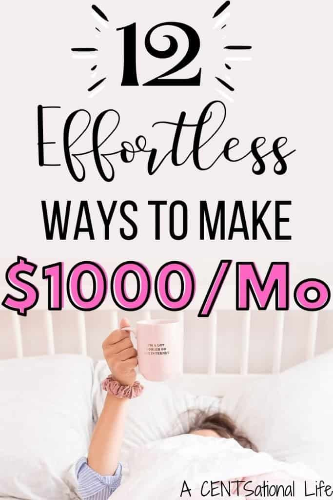 Ways To Make An Extra 1000 A Month