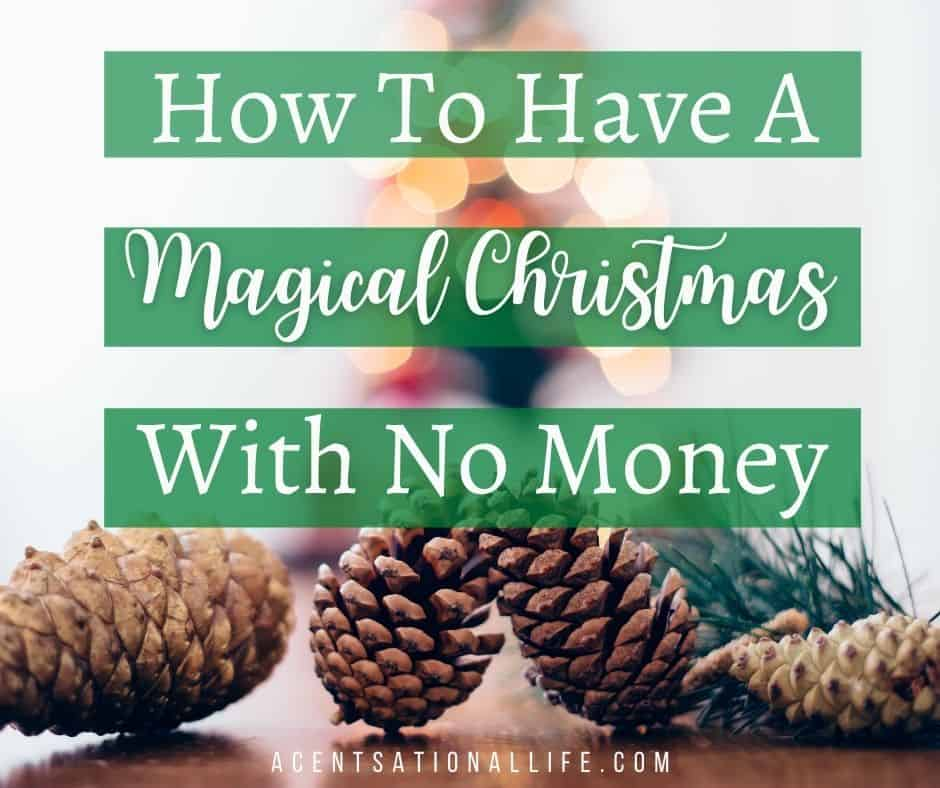 Christmas With No Money